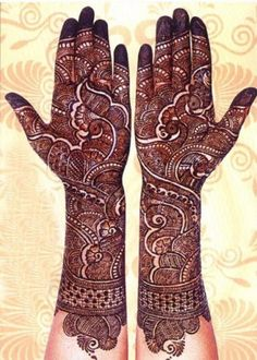 Here are the best bridal mehndi designs 2019 trends in India and Pakistan. Beautiful traditional henna designs are most popular all around the world. Henna Hand Designs, Mehndi Designs Finger, Wedding Henna Designs, Latest Bridal Mehndi Designs, Full Hand Mehndi Designs, Mehndi Designs 2018, Mehndi Design Pictures, Beautiful Henna Designs, Mehndi Images