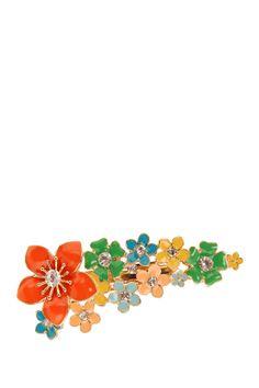 Flowered Barrette