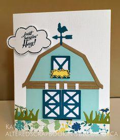 Flip Cards, Fancy Fold Cards, Pop Up Cards, Up Halloween, Halloween Cards, Honey Bee Stamps, Barnyard Animals, Elizabeth Craft Designs, Animal Cards
