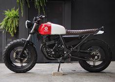 "1971 Honda CB300 ""Mestra"" Bendita Machina"