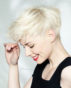 Image result for short layered hair with undercut