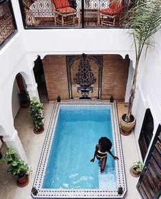 • Moroccan Mornings • @spiritedpursuit in Marrakech, Morocco