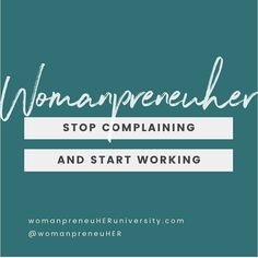 What's complaining about it gonna do, sis? Get focused, turn on the positive self talk and get to work! Affirmations For Women, Money Affirmations, Positive Affirmations, Instagram Bio, Instagram Quotes, Positive Self Talk, Positive Quotes, Motivational Quotes For Women, Inspirational Quotes