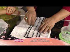 Saiba como fazer toalhas com pedraria! - YouTube