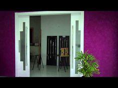 Porta de correr embutida na parede | Otimizi Ambientes | Como instalar - YouTube
