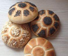 Rezept Frühstücksbrötchen, Semmel von bussi-bussi - Rezept der Kategorie Brot & Brötchen