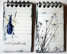 [:Try different types of binding notebooks, not only the ones I like:] Sue Brown Printmaker: FIELD NOTES