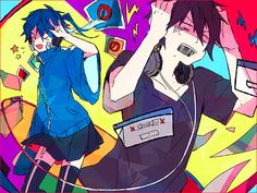 Kagerou Project | Ene & Shintaro