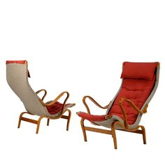 Pair of Pernilla Armchairs by Bruno Mathsson for DUX 1944