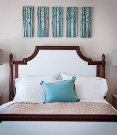Good 3 DIY Headboards That Totally Transform A Bedroom | Diy Headboards,  Bedrooms And Elle Decor Design