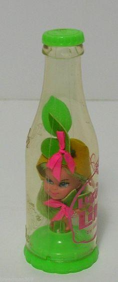 Vintage Liddle Kiddles Luscious Lime Soda Kola Little Bottle Doll Mattel Green   eBay