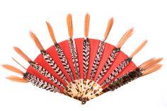 """""""Apache"""" tribal fan by Duvelleroy."""