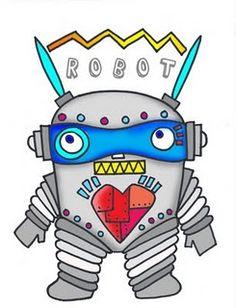 Free Robot Monster Printable