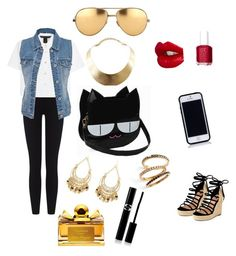 """""""Going out out !!"""" by perihan-kamal ❤ liked on Polyvore"""