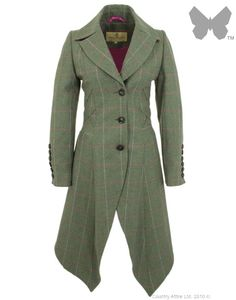 LiBErty FREEdom Sarah Long Coat - Mosside Tweed | Country Attire