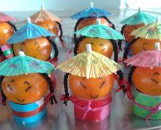 mandarijntjes als chineesjes