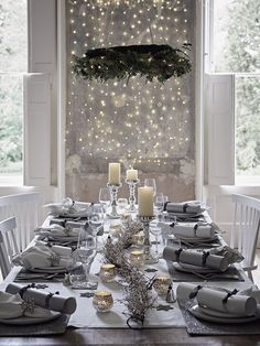 Event: Christmas with The White Company - - House Event: Christmas Shopping with The White Company. Kick-start the festive season in style. Join us and The White Company at the flagship Symons Street store. Christmas Party Table, Christmas Dining Table, Cosy Christmas, Christmas Table Settings, Christmas Tablescapes, Christmas Shopping, Christmas Home, Christmas Crafts, Purple Christmas