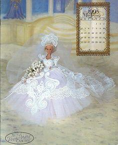 The Royal Ballgowns 1998 Miss January Crochet by grammysyarngarden