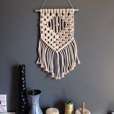 Cotton Rope Macrame Wall Hanging