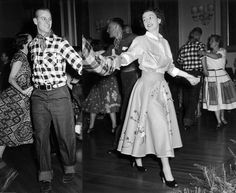 Princess Elizabeth and her husband Prince Philip at a private party in Ottawa, Canada, 1951