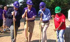 University of Evansville students team up with Habitat to build - 14 News, WFIE, Evansville, Henderson, Owensboro