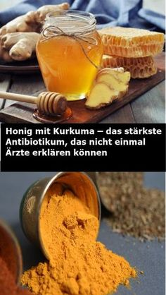 Health Honey with turmeric - the strongest antibiotic that even doctors do not explain . Healthy Beauty, Health And Beauty, Healthy Life, Healthy Living, Health Articles, Health Advice, Eat Smart, Health Facts, Yummy Drinks