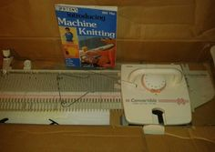 Brother Knitting Machine KX 395 Convertible Home Knitter