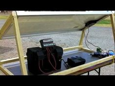 How to Build A Solar Generator - DIY Survival Prepper Solar Panel Installation - YouTube