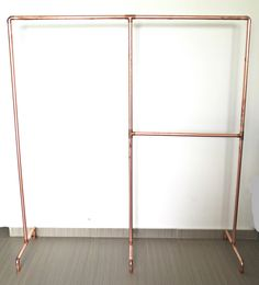Garment rack made from real industrial copper pipes. A garment design as such will add style to your shop, home or wherever used. This garment racks accommodates for both long coats/jackets and tees, Boutique Interior, Clothing Store Interior, Clothing Store Design, Lingerie Store Design, Pipe Clothes Rack, Garment Racks, Aesthetic Room Decor, Metal Wall Decor, Room Inspiration