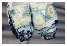 Oooooh Van Gogh Starry Night. Love this!