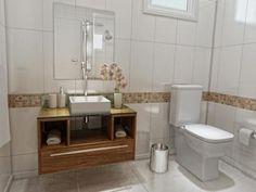 Gabinete para Banheiro com Cuba e Espelho 1 Gaveta - VTec Cetus com as melhores condições você encontra no Magazine Jottage. Confira!