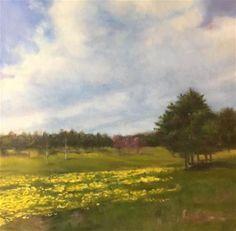 "Daily Paintworks - ""Yonder"" - Original Fine Art for Sale - © Mb Hucker"