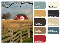 Chip It! by Sherwin-Williams – Home. You upload a pic and it creates the color palette and paint names for you!