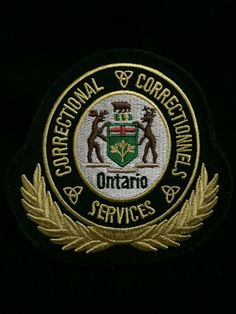 Ontario Canada, correctional services