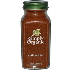 Simply Organic, Chili Powder, 2.89 oz (82 g)