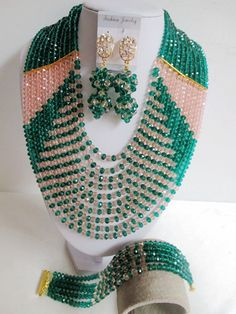 Find More Jewelry Sets Information about New! nigerian wedding african beads jewelry set crystal army green peach costume necklace bracelet earrings ABD609,High Quality necklace coral,China necklace stainless Suppliers, Cheap necklace iron from Alisa's Jewelry DIY Store on Aliexpress.com