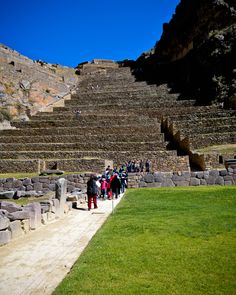 Ollantaytambo ruins.  Explore them on the Sacred Valley Tour, or as a tour in itself. info@inkasitesadventures.com