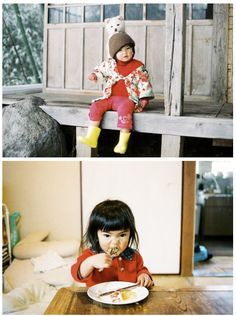 What a pretty little girl Mirai-Chan is and she had such an expressive face. Her mum is Tokyo based photographer, Kotori Kawashima and she came up with a photo book based on her little girl. The books and images here are by Napa books. Cute Kids, Cute Babies, Baby Kids, Cute Baby Meme, Pretty Little Girls, Korean Babies, Everyday Objects, Grunge Hair, Pictures To Draw