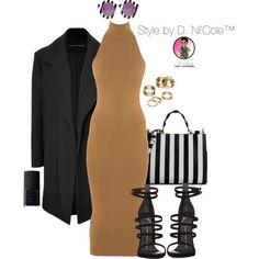 Untitled #2755 by stylebydnicole on Polyvore featuring Torn by Ronny Kobo, Anthony Vaccarello, Giuseppe Zanotti, Dolce&Gabbana, Apt. 9, House of Holland and NARS Cosmetics