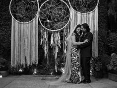 Giant, Oversized Boho Dreamcatchers - Beautiful Wedding Photo Prop Fall Autumn Decor!