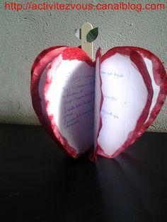 BRICOLAGE: Lapbook sur la pomme!