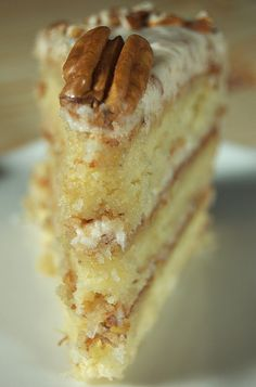 OH MAN I LOVE Italian Cream Cake! Look no further for the best cake to make for special occasions, as this Italian cream cake is everything you really need! 13 Desserts, Dessert Recipes, Pie Dessert, Drink Recipes, Bolo Ferrero Rocher, Italian Cream Cakes, Italian Cake, Italian Cream Cake Recipe Southern Living, Italian Creme Cake Recipes