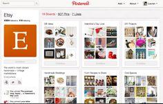 Gotta love Etsy's Pinterest marketing! #PinterestDay