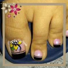 Pedicure Nail Art, Toe Nail Art, Spring Nail Art, Spring Nails, Work Nails, Toe Nail Designs, Dog Tattoos, Finger, Make Up