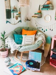 Luxury Home Interior Boho Bedroom Ideas (How to Decor & Best Color for Bohemian Style).Luxury Home Interior Boho Bedroom Ideas (How to Decor & Best Color for Bohemian Style) Cute Room Decor, Boho Bedroom Decor, Room Ideas Bedroom, Bohemian Bedrooms, Bedroom Vintage, Dream Bedroom, Bedroom Furniture, Boho Bedrooms Ideas, Book Corner Ideas Bedroom