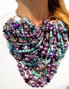 Wearable art! No more words are needed.... :-)    https://www.etsy.com/listing/101418617/super-statement-necklace-purple-lavender