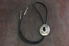 A personal favorite from my Etsy shop https://www.etsy.com/listing/253457994/vintage-navajo-sterling-silver-onyx-bolo