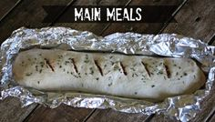 Campfire Pizza Log | 21 Foil-Wrapped Camping Recipes
