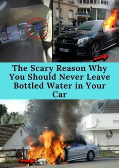 The Scary Reason Why You Should Never Leave Bottled Water in Your Car Funny Fails, Funny Jokes, Weird Stories, Pakistan News, Patchwork Designs, Never, Fun Facts, Scary, Water Bottle