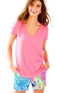 Luxletic Fay V-Neck T-Shirt